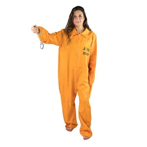 Bodysocks Fancy Dress Costume da Prigioniero per Uomo (Taglia Large)