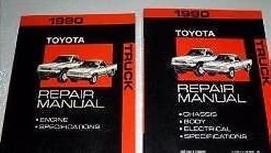 1990 Toyota TRUCK PICK UP Service Shop Repair Manual Set FACTORY DEALERSHIP