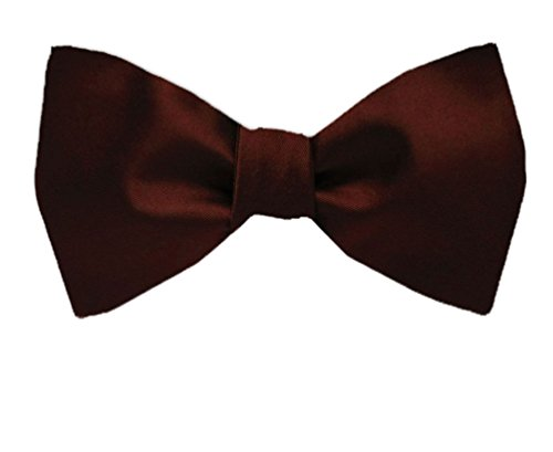 BuyYourTies Cravate - Homme - Rouge - Taille Unique