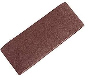 Scheppach Schleifpapier für Bandschleifer, 6 Stück, 7903400705 L 600 x W 100 mm K 80/100/120