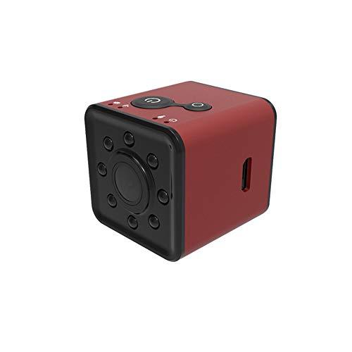 LIGHTOP Mini CAM Cámara WiFi Sensor Recorder Videocámara Micro Full HD 1080p Visión Nocturna Impermeable Shell CMOS, Rojo