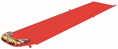Bestway 52096 - Scivolo Speedway con Spruzzi, 488 cm, Rosso