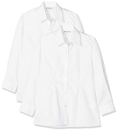 Trutex Blue White striped long sleeved shirt