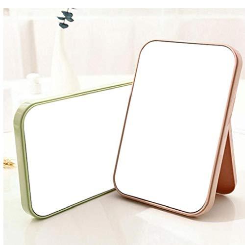 CULER Make-up-Spiegel Desktop-Rasierspiegel Große klappbaren tragbarer quadratischer bunter Make-up-Spiegel (zufällige Farbe)