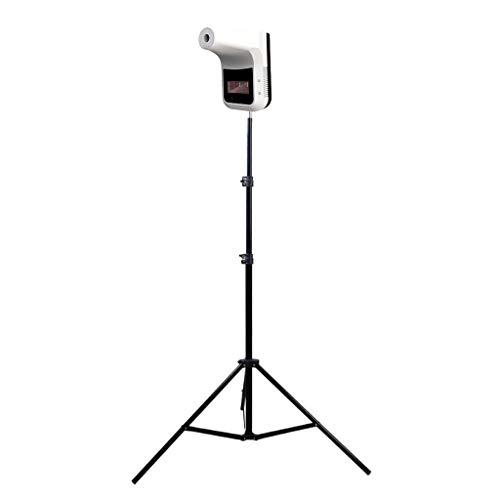 Eariy Infrarot-Thermometer zur Wandmontage, freihändiges automatisches Körpertemperatur-Scanner mit Aluminium-Stativ, berührungsloses präzises sofortiges Ablesen, Thermometer für Büro, Zuhause