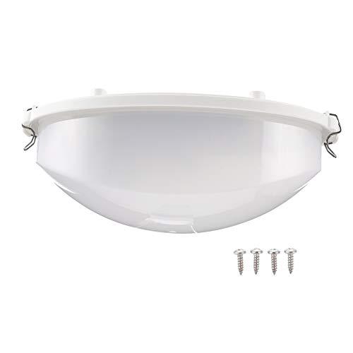 Cabilock Schottlicht Wasserdicht Explosionsgeschützt Antibeschlaglicht Außenwandleuchte Geeignet für Schlafzimmer Saunaraum Lagerhaus