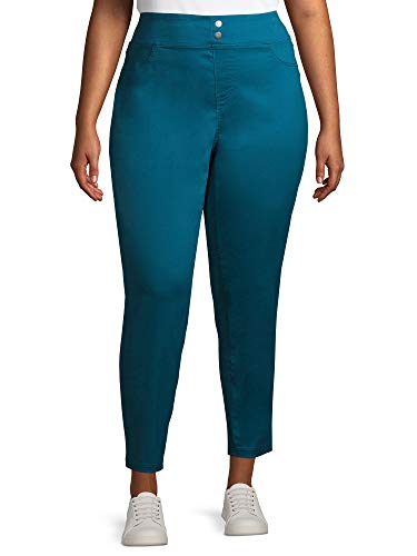 Terra & Sky Women's Plus Size Skinny Mid-Rise Jegging Terra & Sky  via @amazon