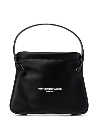 Alexander Wang Moda De Lujo Mujer 20221R18T001 Negro Poliéster Bolso De Mano   Temporada Permanente