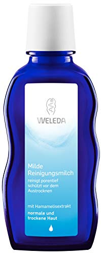 test Weleda Sanfte Reinigungsmilch, Naturkosmetik mit tiefporigem Gesichtswaschmittel für trockene normale Menschen… Deutschland