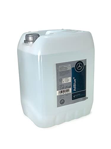 Mercedes Benz - AdBlue - mod. 000989042012 - Soluzione di urea per motori a diesel, confezione da 10 litri, con bocca di dosaggio inclusa