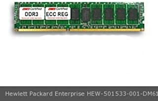 DMS Compatible/Replacement for Hewlett Packard Enterprise 501533-001 ProLiant ML350 G6 2GB DMS Certified Memory DDR3-1333 (PC3-10600) 256x72 CL9 1.5v 240 Pin ECC Registered DIMM