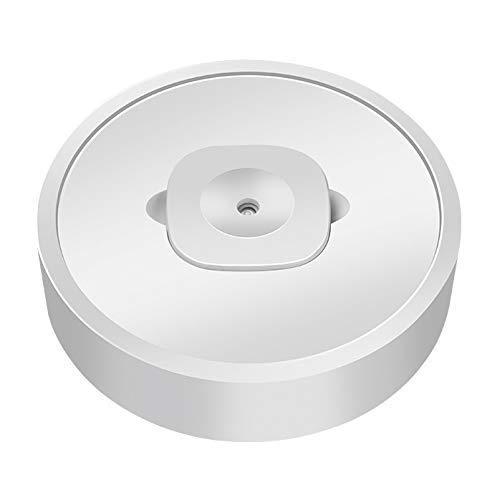 Life Warm Mist Humidificador, USB 35 Humidificadores Ultrasónicos Silenciosos para El Hogar para El Dormitorio Esterilización UV Smart Move Apagado Automático Fácil De Usar (Blanco)