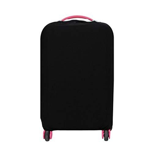 Travel Bagage Bag Beschermende Koffers Elastische Stofdichte Cover Voor 20-28 Inch 28inch Zwart