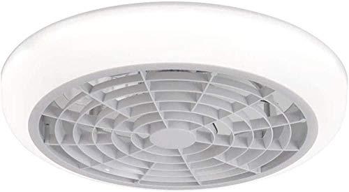 Ventilador de Techo con Luz y Control Remoto, Ventilador Silencioso Creativo Sigiloso Velocidad Del Viento Ajustable Lámpara de Techo LED Regulable