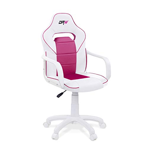 Adec Group DRW, Sillon Gaming, Silla de Escritorio, Estudio o Despacho, Acabado Blanco y...