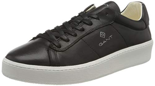 GANT Footwear Herren Leville Sneaker, Schwarz (Black G00), 42 EU