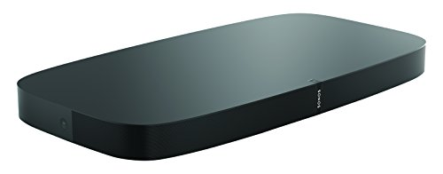 Sonos Playbase - Base de sonido para la televisión y reproducción de música en streaming, sonido envolvente para cine en casa, altavoz compatible con AirPlay, color negro