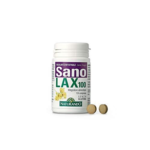 NATURANDO SANOLAX 100 compresse. Integratore alimentare contro l'intestino pigro