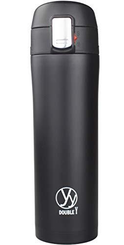 Doble y 17 Oz Doble Acero Inoxidable De Doble Pared Con Aislamiento Termo Botella Vacío(Blanco)