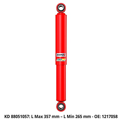 Front Red KonActive Shock Absorber 147//156//3.2 V6 8045-1021 Excl. Q4 and and Self-LevellinSystems