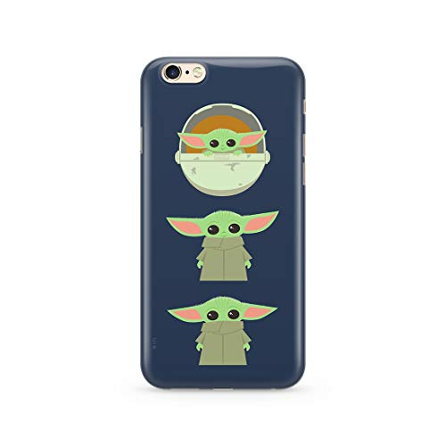 Ert Group SWPCBYODA2417 Star Wars - Cubierta del Teléfono Móvil, Baby Yoda 007 Iphone 6/6S