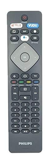Mando a distancia de repuesto para Philips NH800UP Android TV con asistencia de voz