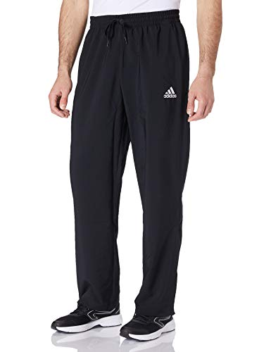 adidas Herren Stanford Essentials Plain Hose, Black, XL