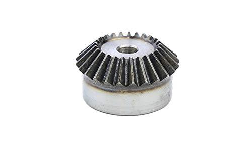 WNJ-TOOL, 1 stück 2m40 Zähne Kegelrad Außendurchmesser 83 mm Gesamthöhe 40 mm Prozessloch Low Carbon Steel Material Getriebe (Farbe : Process Hole, Größe : 40 Teeth)