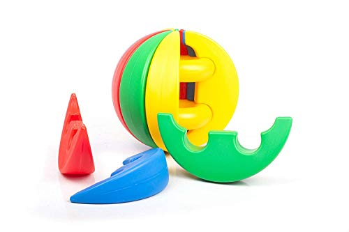 Funskool Giggles – Activity Ball, Learning Activity Toy, Multicolour, 12 Months & Above, Infant And Preschool Toys