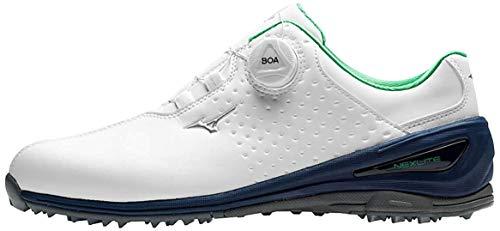 Mizuno Nexlite 006 Boa, Chaussures de Golf Homme, Blanc...
