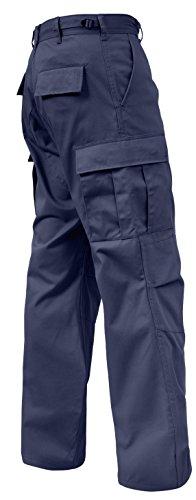 Rothco Relaxed Fit Zipper Fly BDU Pants, Khaki, 3XL