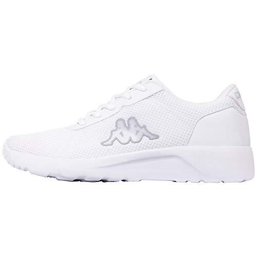 Kappa Damen Tunes OC W Sneaker, 1010 White, 42 EU