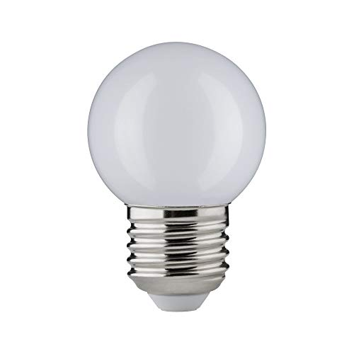 Paulmann 285.27 LED Tropfen 2W E27 230V matt schlagfest Warmweiß 28527 Leuchtmittel Lampe