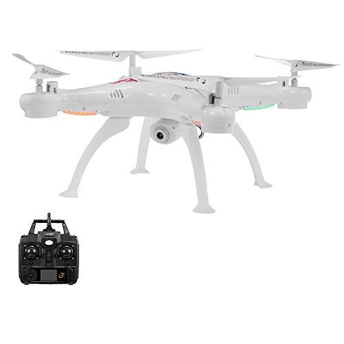 Entweg Regalo per Bambini, X5Sw-1 2.4Ghz 720P Macchina Fotografica One Key Return RC Drone Quadcopter RC Giocattolo Rtf per Bambini Principianti
