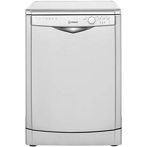 Indesit DFG26B1S Freestanding A+ Rated Dishwasher - Silver