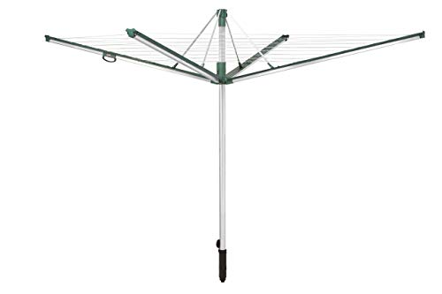 Leifheit Linomatic-Plus 500 Tendedero, Verde, 50 m