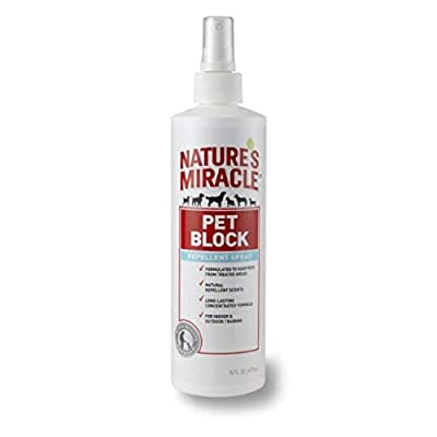 Nature's Miracle Pet Block Repellent Spray, 16 fl. oz. - P5768 from Nature's Miracle