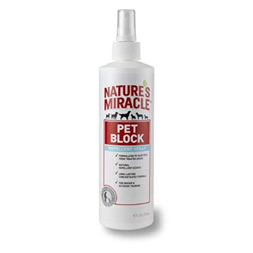 Nature's Miracle Pet Block Repellent Spray   Chewy