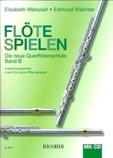 Fluit Spelen B - gearrangeerd voor dwarsfluit - met CD [Noten / Sheetmusic] Componis: WEINZIERL ELISABETH + WAECHTER EDMUND