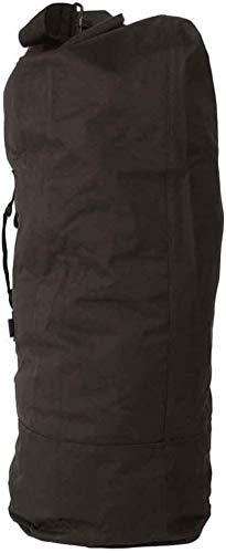 Sac US Marine avec bretelles doubles, noir, 95 x 53 cm