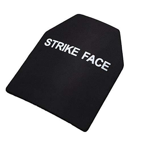 1PC Eckschnitt, quadratische Schutzplatte, spritzwassergeschützte Platte (schwarz, 2,3 mm ohne ungeschützte Weste)