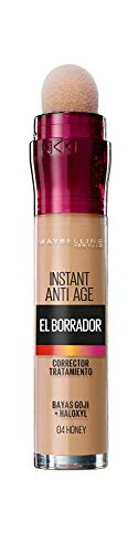 Maybelline New York - - Corrector de Ojeras, Bolsas e Imperfecciones Borrador...
