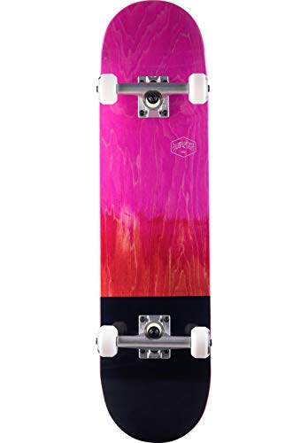 TITUS Skateboard Dip Colour Fade Premium Größe 7.75 pink-red Komplettboard
