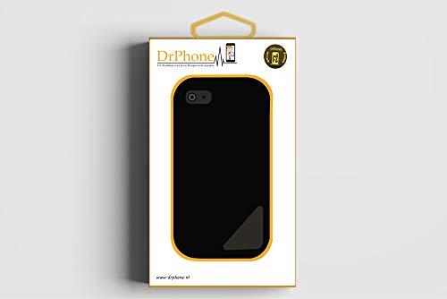 DrPhone Nokia 7 Plus Cristal 4D Volledige Glazen Dekking Full Coverage Curved Edge Frame Tempered Glass Zwart - Oficial
