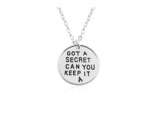 Pretty Little Liars inspiriert Halskette–'Got A Secret können Sie Keep it' von Pflaume Street Geschenke und mehr LLC