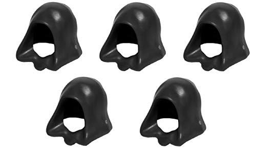 Lego Star Wars 5 schwarze Jedi Kappen z.B. fuer Palpatine, Darth Maul oder Luke Skywalker