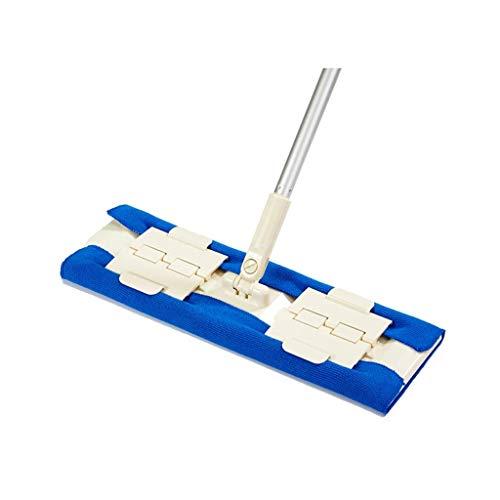 STRAW Fregonas for Pisos, Almohadillas de Microfibra Reutilizables 180 Grados de rotación fácil de Limpiar for Pisos de Madera Dura, Madera, Laminado, azulejo