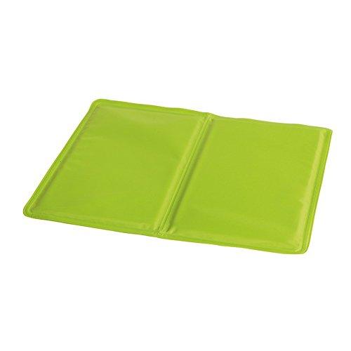 Preiswert&Gut Kühlmatte bei Migräne Kühldecke Hitzewallungen Kühlkissen selbstkühlend 40x30cm Sitzkissen Kühlmatte Farbwahl (Grün)