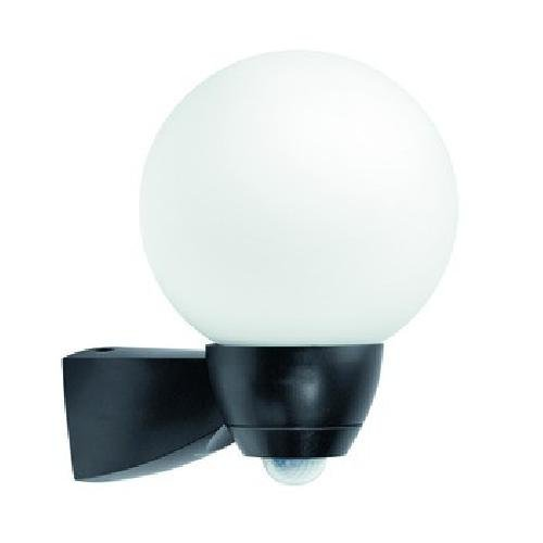 Esy-Lux EL10026126 automatische lamp AL P Garda 130 met BWM; zwart