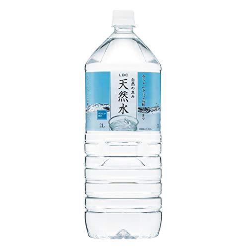LDC 自然の恵み天然水 2L×12本